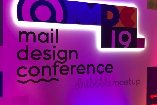 Mail Design Conference 2019 (Dribbble Meetup)
